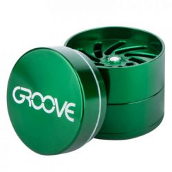 Groove 4-Piece Grinder Aerospaced Grinders Evertree