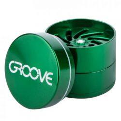 Groove 4-Piece Grinder Grinders Evertree