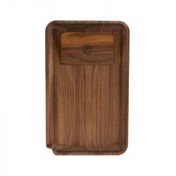 Marley Natural Walnut Rolling Tray, Small Marley Natural Evertree