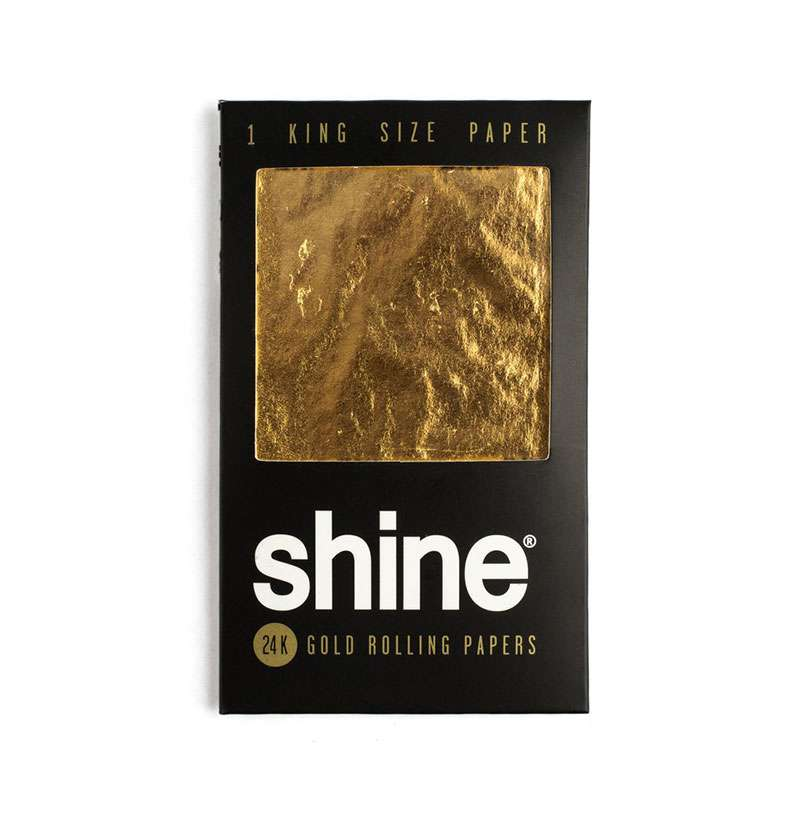 Shine 24K Gold King Size Paper Accessories Evertree