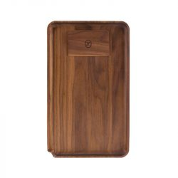 Marley Natural Walnut Rolling Tray, Large Marley Natural Evertree
