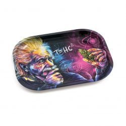 V-Syndicate Einstein Metal Rolling Tray – Small Marley Natural Evertree