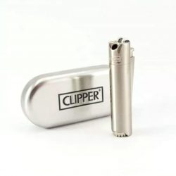 Metal Clipper Lighter – Silver Accessories Evertree