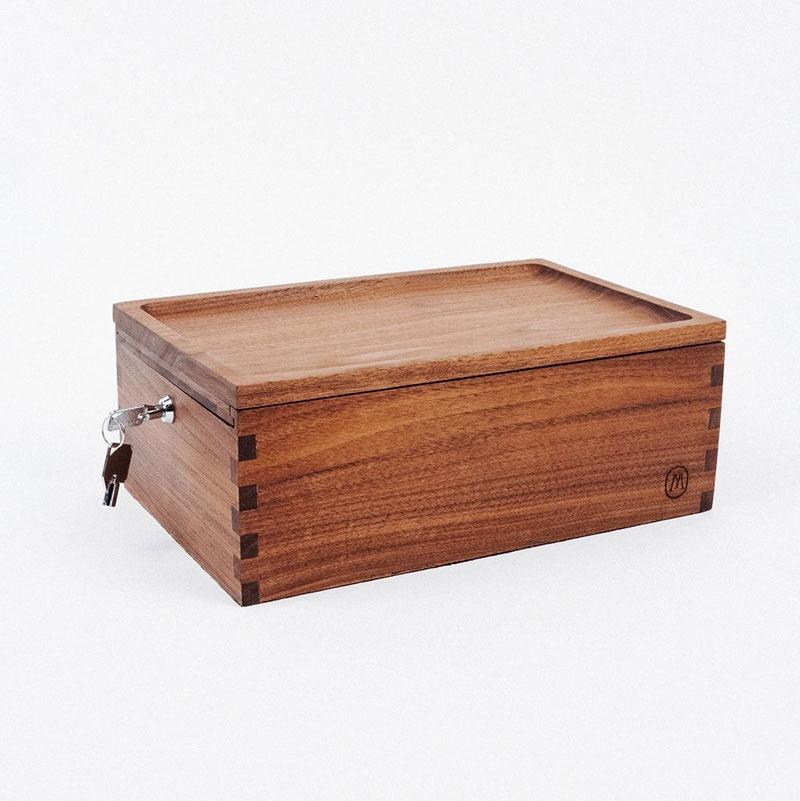 Marley Natural Storage Lock Box Accessories Evertree